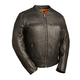 Black The High Roller Leather Jacket