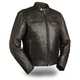 Black Carbon Leather Jacket