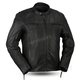 Maduro Brown Top Performer Leather Jacket