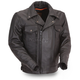 Black Mastermind Leather Jacket