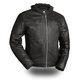 Black Street Cruiser Leather Jacket