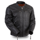 Black Speed Demon Leather Jacket