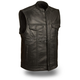 Black Blaster Leather Vest