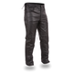 Black The Baron Leather Overpants