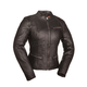 Women's Black First Fashionista Leather Jacket