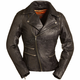 Women's Black The Monte Carlo Leather Jacket