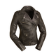 Women's Black Iris Leather Jacket