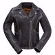 Women's Black Arcadia Leather Jacket