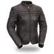 Women's Black The Maiden Leather Jacket