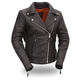 Women's Black Allure Leather Jacket