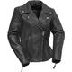 Women's Black Allure Leather Jacket