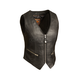 Women's Black The Montana Leather Vest