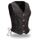 Women's Black Native Lacy Vest