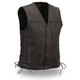 Black The Gambler Vest