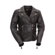 Women's Black Victoria Leather Jacket