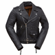 Women's Black Rock Star Leather Jacket