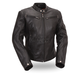 Women's Black Athena Leather Jacket