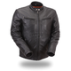 Black Apollo Leather Jacket