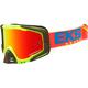 FloYellow/Cyan/Red GOX EKS-S Goggles - 067-50110