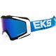 Blue/Black/White GOX EKS-S Goggles - 067-50115