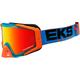 Cyan/Flo Orange/Black GOX EDS-S Goggles - 067-50145