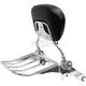 Quick Detachable Black Backrest and Chrome Rack - MV170