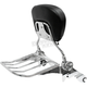 Quick Detachable Black Backrest and Chrome Rack - MV175
