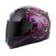 Pink EXO-R410 Sugarskull Helmet