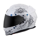 White/Silver EXO-T510 Azalea Helmet