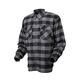Black/Gray Covert flannel Shirt