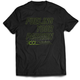 Black/Lime T-Shirt