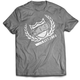 Gray Storm Chaser 17 T-Shirt - 509-CLO-SC7T-SM