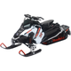 White Polaris Switchback Pro-X800 Snowmobile 1:16 Scale Die Cast Model - 57783A