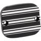 Black 10-Gauge Front Brake Master Cylinder Cover - 03-229