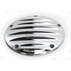 Chrome Deep Cut II Ness-Tech Derby Cover - 30-311