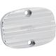 Chrome 10-Gauge Rear Master Cylinder Cover - 03-232