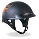 Womens Pinstripe Rose Helmet