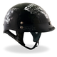 Black Biker For Life Helmet
