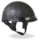 Matte Black Ancient Skulls Helmet