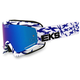 White/Blue GOX Scatter X Goggles x/Blue Mirror Lens - 067-10645