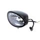 Black Oval Style Headlamp - 33-1542