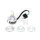 White LED H4 Headlight Bulb - 33-1736