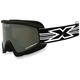 Black GOX Flat Out Goggles w/Mirror Lens - 067-10365