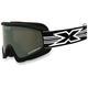 Black GOX Flat Out Goggles w/Mirror Lens - 067-10365
