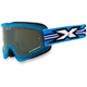 Blue GOX Flat Out Goggles w/Mirror Lens - 067-10370