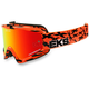 Black/Fluorescent Orange GOX Scatter X Goggles w/Red Mirror Lens - 067-10625