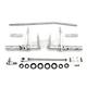 Polished Forward Control Kit - 22-0779