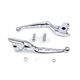 Chrome Drilled Hand Lever Set - 26-0800
