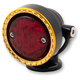 Black Machine Neo-Fusion Taillight w/Brass Ring - 11-005