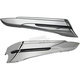 Chrome Saddlebag Extensions - 40102